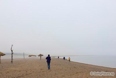 Misty Lake Khovsgol