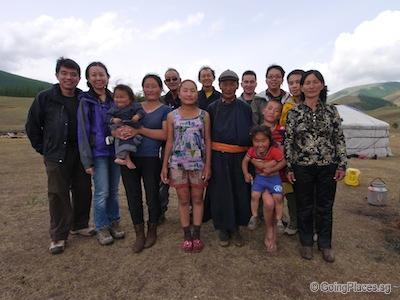 Nomad Family in Mongolia