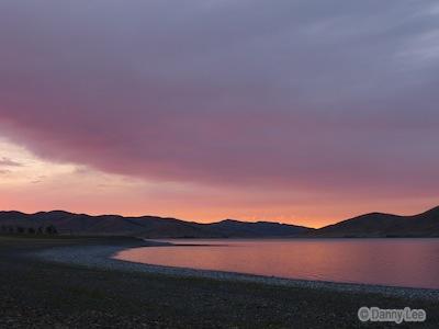 Sunset At Zuun Lake
