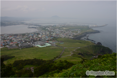 View From Seongsan Ilchulbong