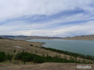Zuun Nuur Lake