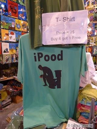 T-shirt at Angor Night Market