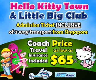 Bus to Hello Kitty Town