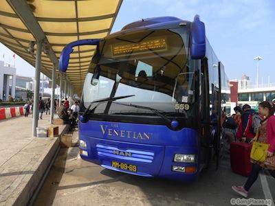 Free Shuttle Bus To Venetian Casino