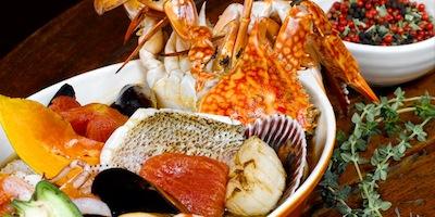 Breeze Seafood Cassarole