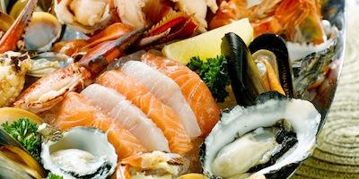 Seafood Platter At Breeze