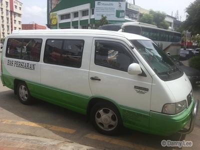 Minibus To Malacca