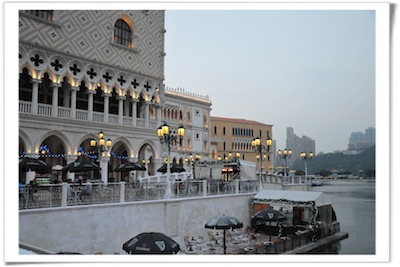 Venentian Macau Exterior by Yap Kian Ann