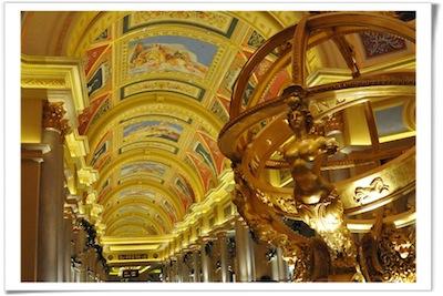 Venetian Macau Interior by Yap Kian Ann