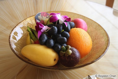 Ritz Carlton Fruit Basket