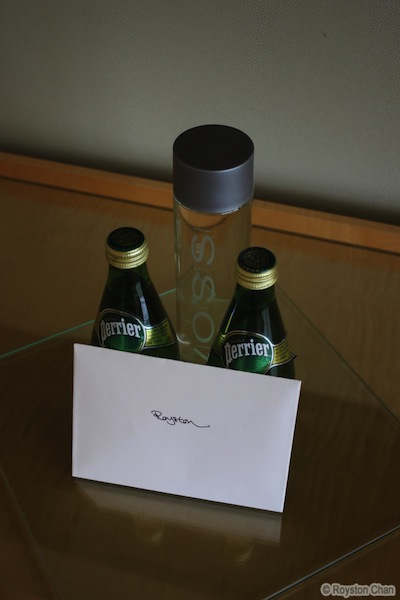 Ritz Carlton Welcome Note