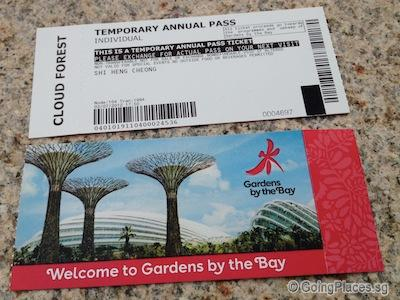 Garden By The Bay 2 Domes Admission Ticket Travelog Singapore