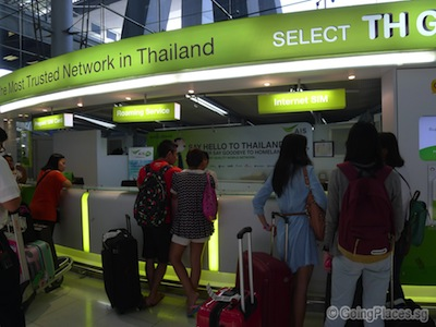 Bangkok Sim Card At Airport