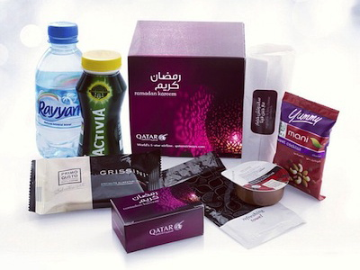 Qatar Airway Inflight Food