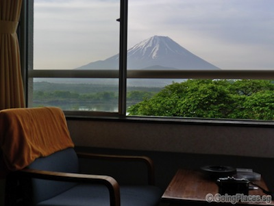 Room With Mount Fuji View