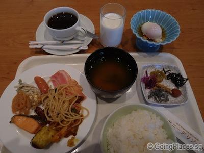 Sunnide Hotel Breakfast