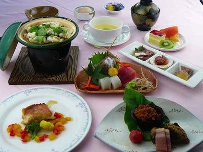 Yamanakako Shuzanso Dinner
