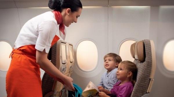 Etihad Airways Inflight Service