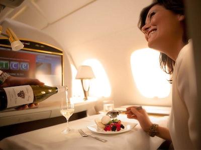 Emirates Inflight Food