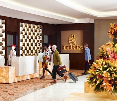 Emirates Airlines Lounges