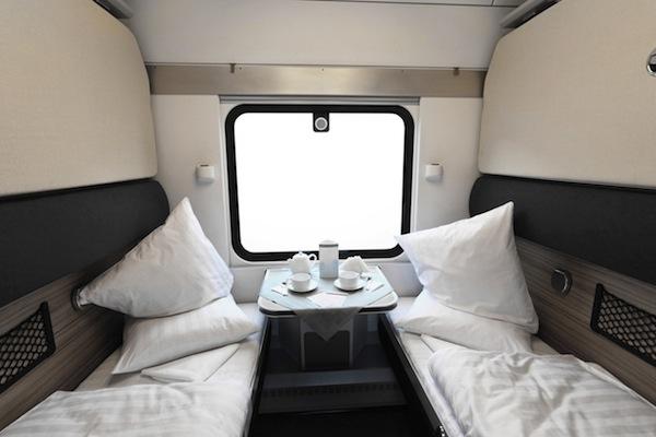 Train With Private Cabin