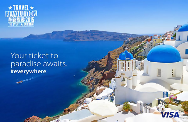 Your ticket to paradise awaits - Travel Revolution/VISA