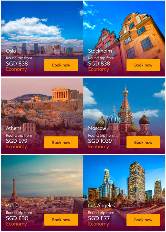 Qatar Airways Promo Airfares to Europe and USA