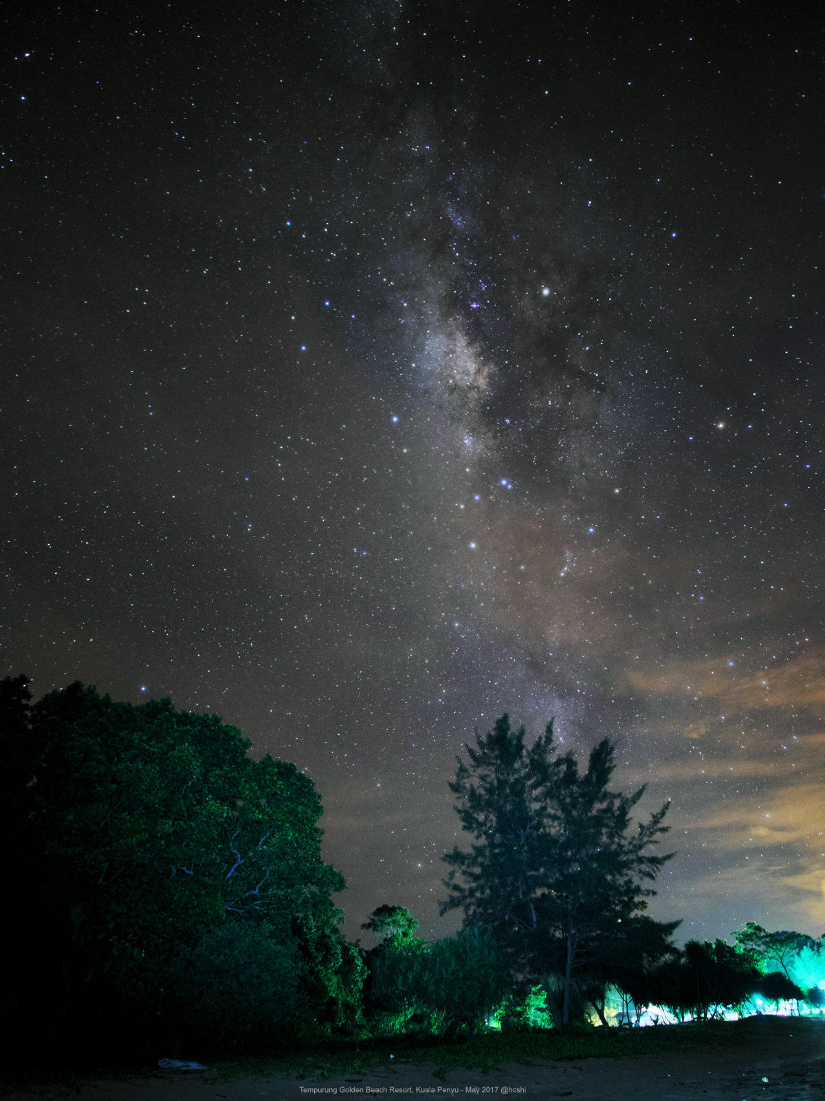 Milky Way at Tempurung Golden Beach Resort
