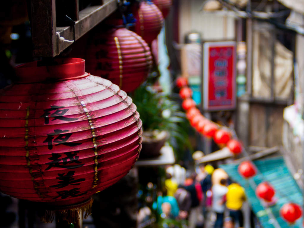 Jiufen Old Street by Athena Lam on unsplash.com/photos/Lbey-Fi5di0