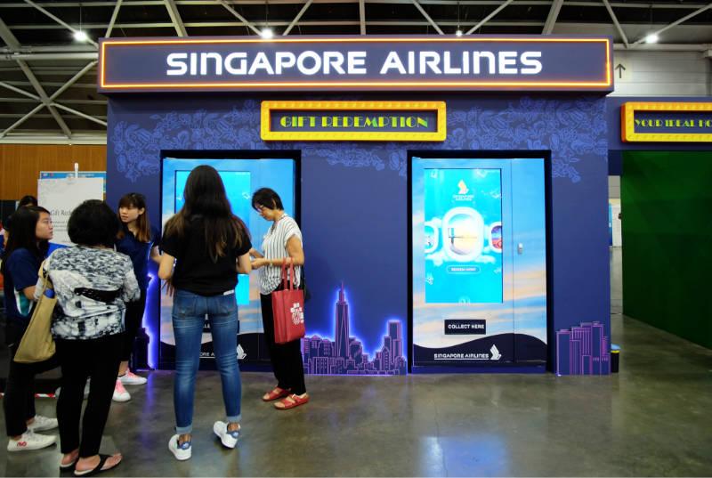 Natas Fair 2018 Singapore Airlines