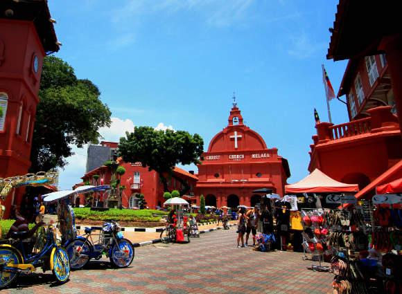 Christ Church Melaka by Mohd Fazlin Mohd Effendy Ooi flic.kr/p/LTG2Bn