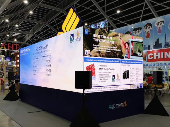 Natas Fair 2019 Singapore Airlines